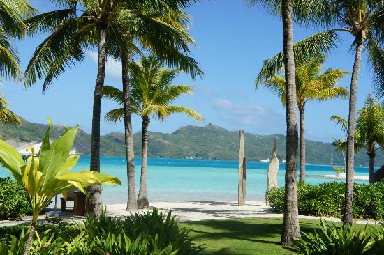 Four Seasons Resort Bora Bora: La vista