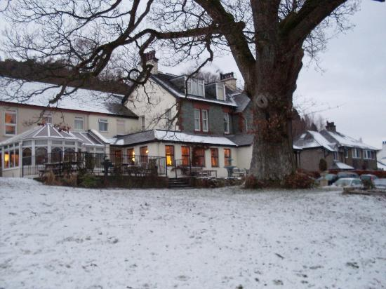Middle Ruddings Country Inn: The hotel in winter