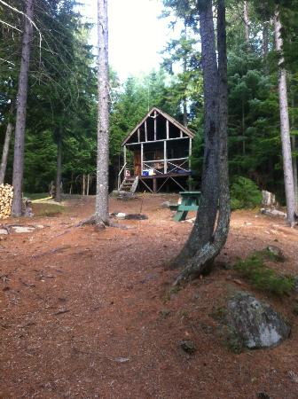 Wilson Pond Camps: Top Secret Cabin