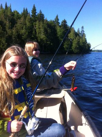 Wilson Pond Camps: Canoeing/Fishing