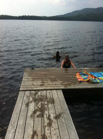 Wilson Pond Camps: Dock