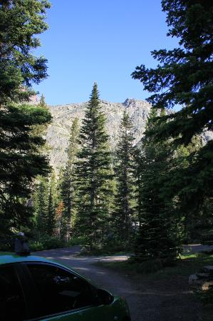 Two Medicine Campground: view from campsite