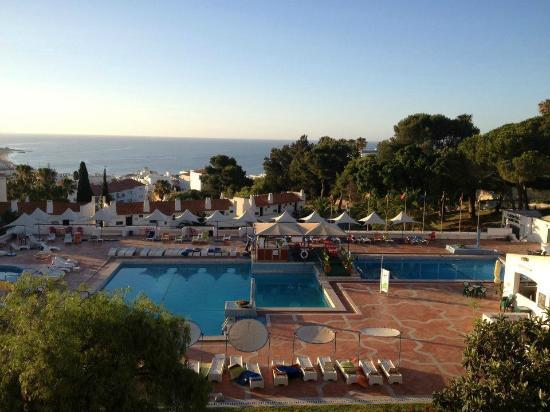 Albufeira Jardim - Apartamentos Turisticos: the view in the morning from balcony