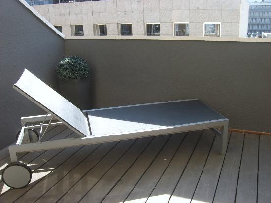 Amador De Los Rios: Room Terrace