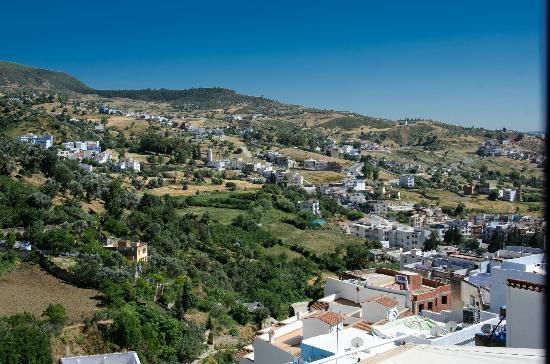 Hotel Parador: Uitzicht 