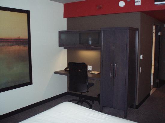 Grand Times Hotel Sherbrooke: Bureau de travail