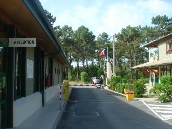 Camping de la Cote d'Argent: The Exit gate