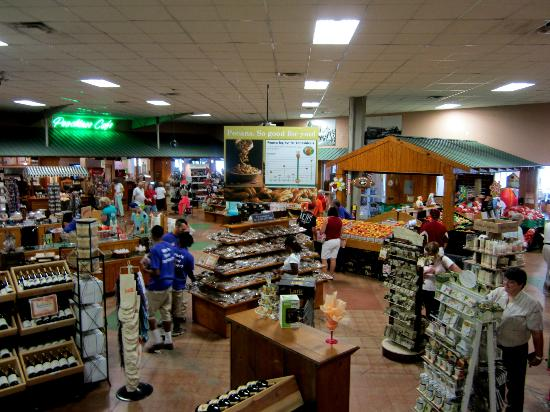 Lane Southern Orchards: This is the retail store. It is huge and has amazing selections