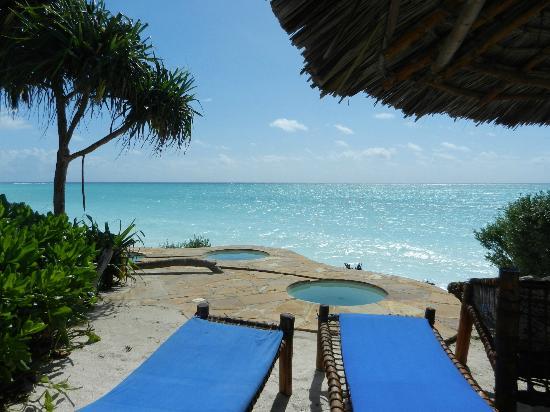 The Zanzibari : The private beach & mini pools