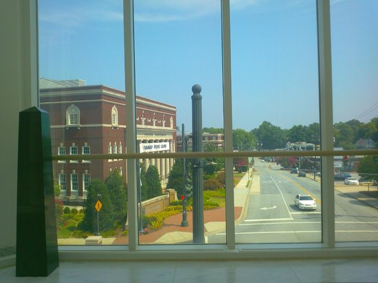 Weatherspoon Art Museum: View from the second floor