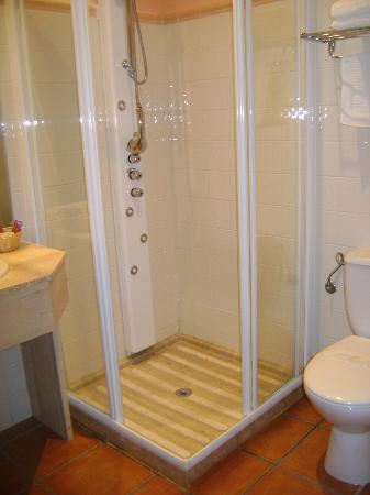Hotel Elvea : ducha habitación