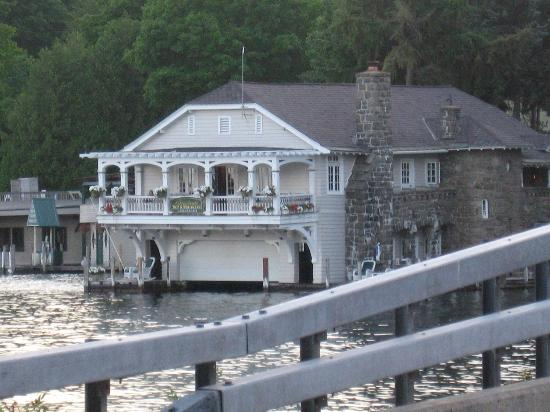 Boathouse Bed and Breakfast A Lake Castle Estate on Lake George: .