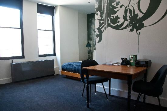 """Ace Hotel New York: This is a """"medium"""" room."""