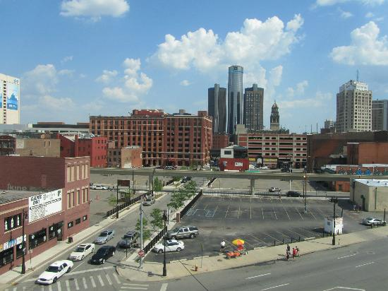 Hilton Garden Inn Detroit Downtown: view