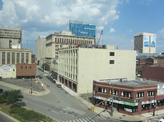 Hilton Garden Inn Detroit Downtown: view