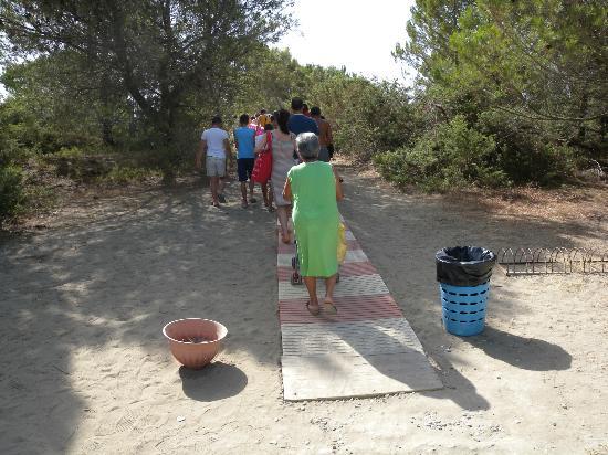 Scanzano Jonico, Italia: L'ingresso alla spiaggia
