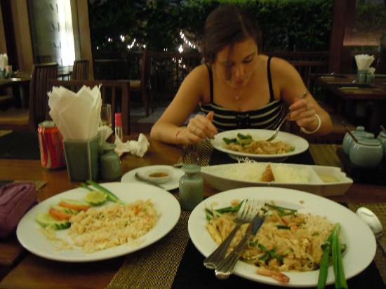 Mantra Resort: Evening meal
