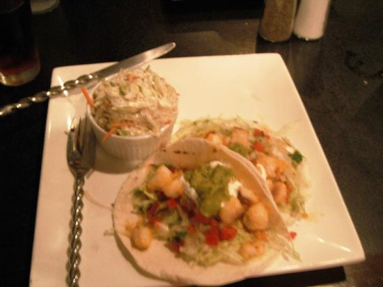 Zazu Gastropub: O.K. fish tacos
