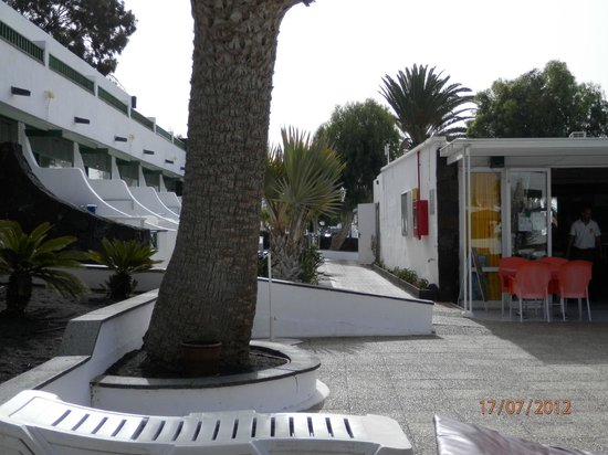 Arena Dorada Apartments : grounds