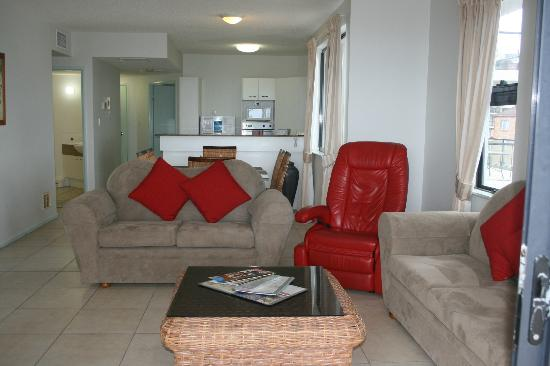 King's Row: living room