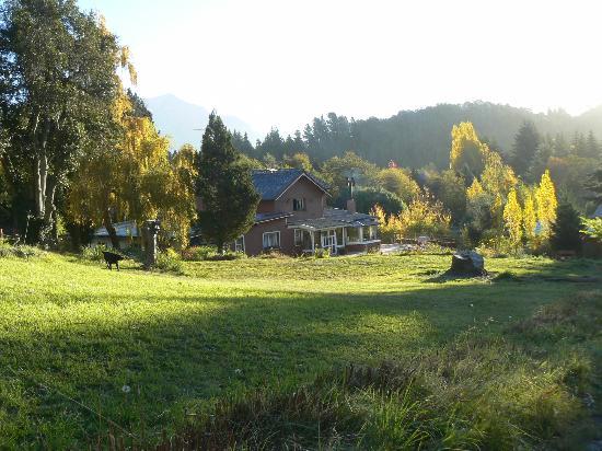 Equs Casa de Te Gales: Parque del lugar