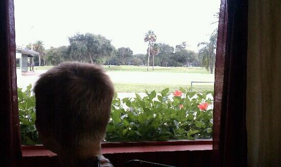 Tiano's: view of the course
