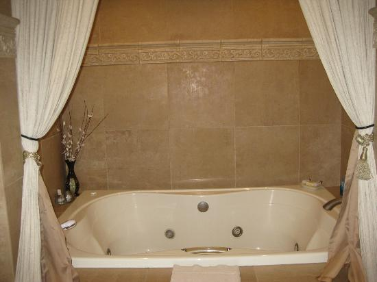 The Spring Street Inn B&B: jacuzzi tub