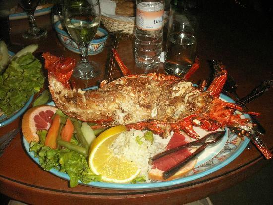 Golden Beach Restaurant Bar Lobster Thermidor At