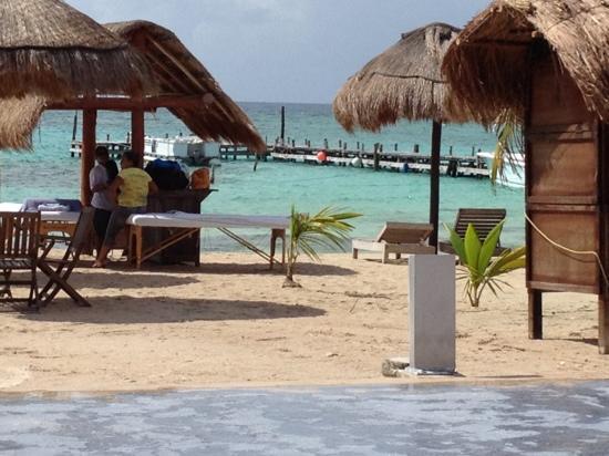 Koox Quinto Sole Boutique Hotel: en la playa del hotel