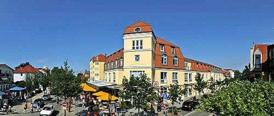 Ostsee Brauhaus AG Hotel: Brauhaus Außenansicht