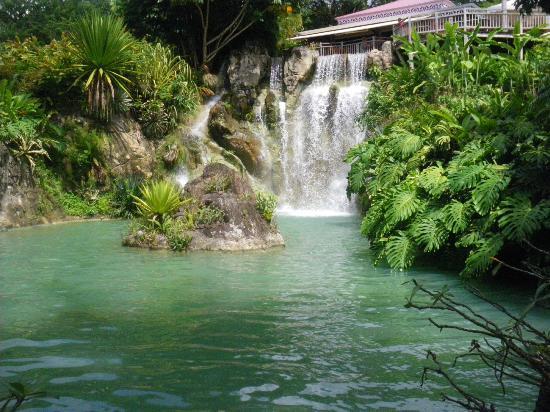 Jardin Botanique de Deshaies: cascade