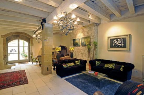 Maison de La Pra : salon