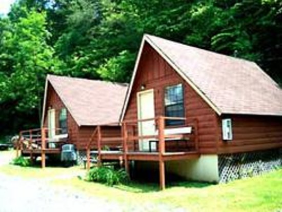 Foothills RV Park & Cabins: A-Frame Cabins Available