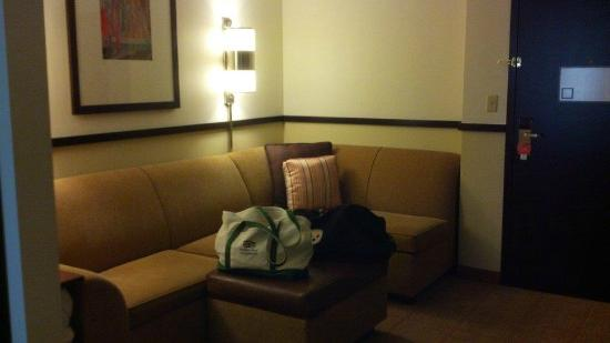 Hyatt Place Nashville/Opryland: Large sitting area to watch TV, read or just relax