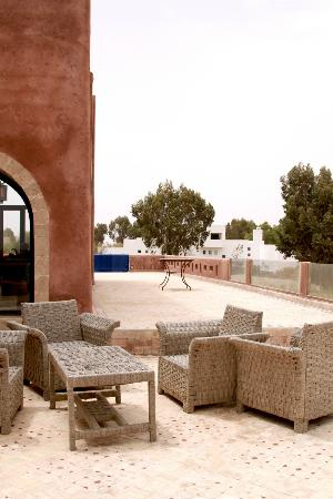 Villa Gonatouki: Terrace, ground floor