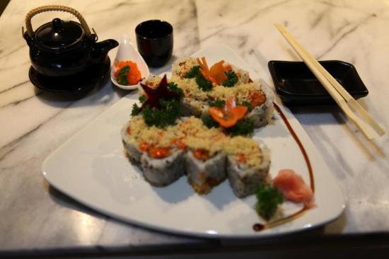 Alaska special rolls 12 and tuna rolls 5 and awsome for Arisu japanese cuisine
