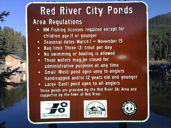 Arrowhead Lodge: City Pond Rules