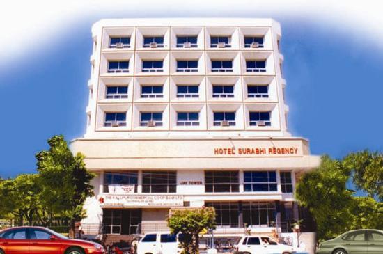 Hotel Surabhi Regency: Building