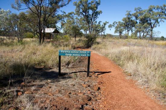 Hughenden, Austrália: At the Pyramid Campground