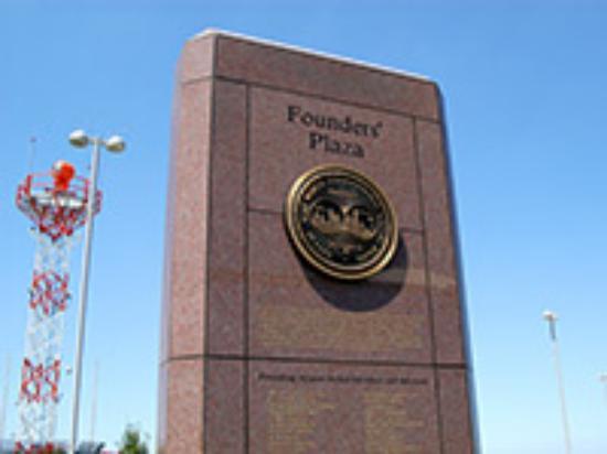 Founder's Plaza Observation Area