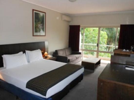 Hinterland Hotel/Motel: Guest Room