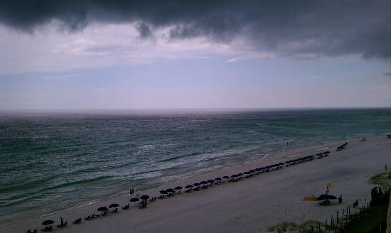 The Beach House Condominiums: balcony view 