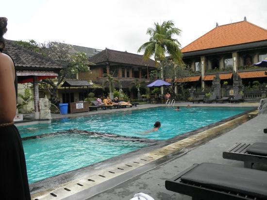 Satriya Cottages: Pool Area 