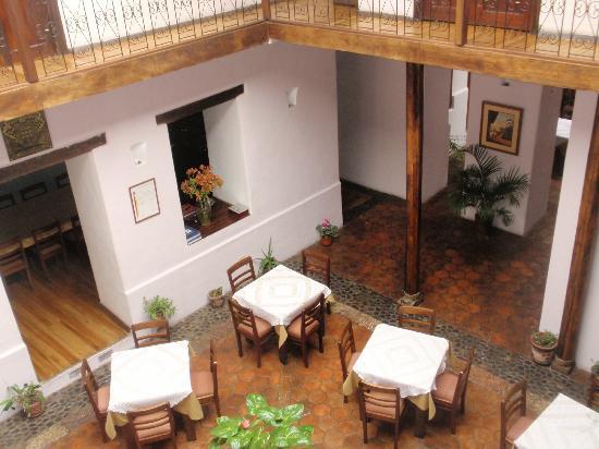 Casa Ordonez: breakfast area