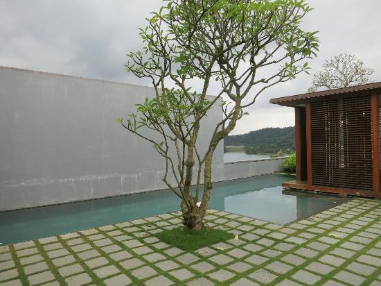 The Lalu Sun Moon Lake: View from inside the villa