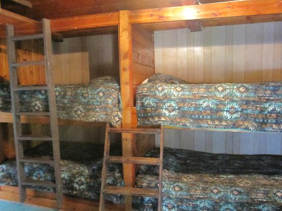K Bar Z Guest Ranch : Cabin Bunk Beads