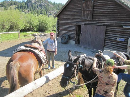 K Bar Z Guest Ranch : Horseback Riding