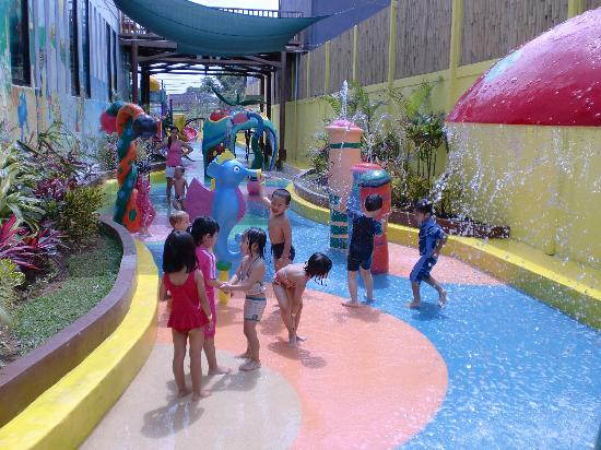 Lollipop's Playland and Cafe : Dry pool