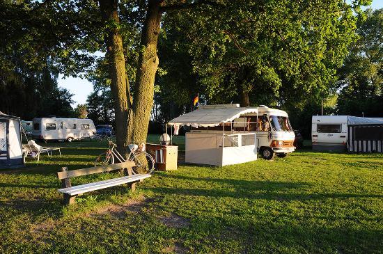 Campingplatz Camping Land an der Elbe Hamburg Bild
