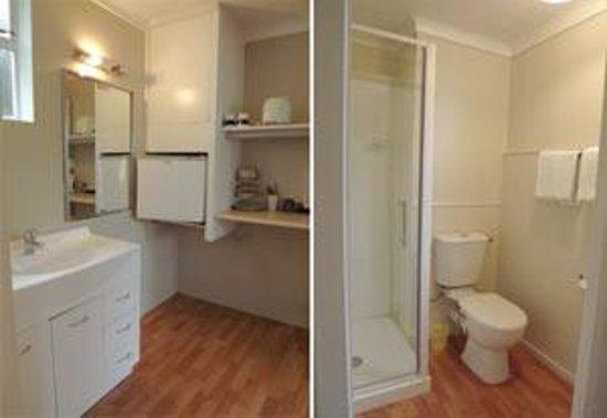 Alexander Spa Motel: Bathroom